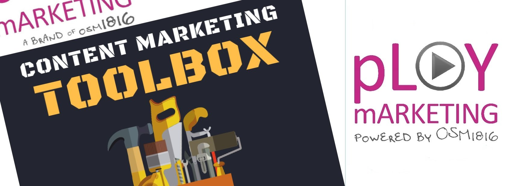 Infografica: Content Marketing Toolbox