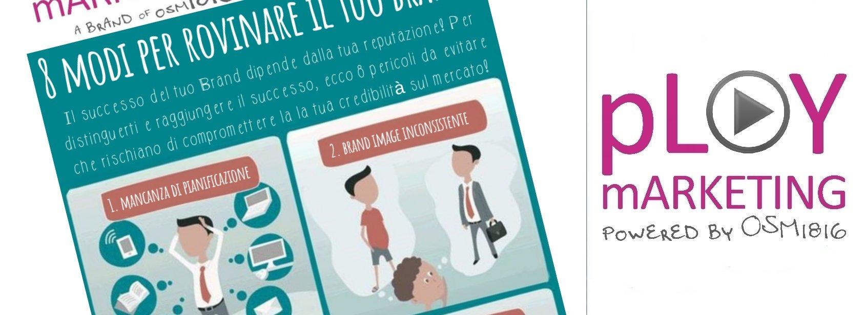 Infografica: 8 Modi per rovinare il tuo brand