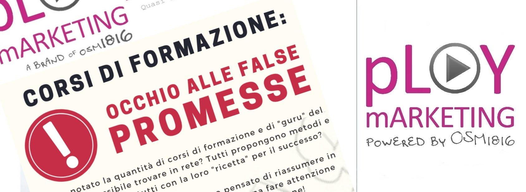 corsi di formazione: occhio alle false promesse!