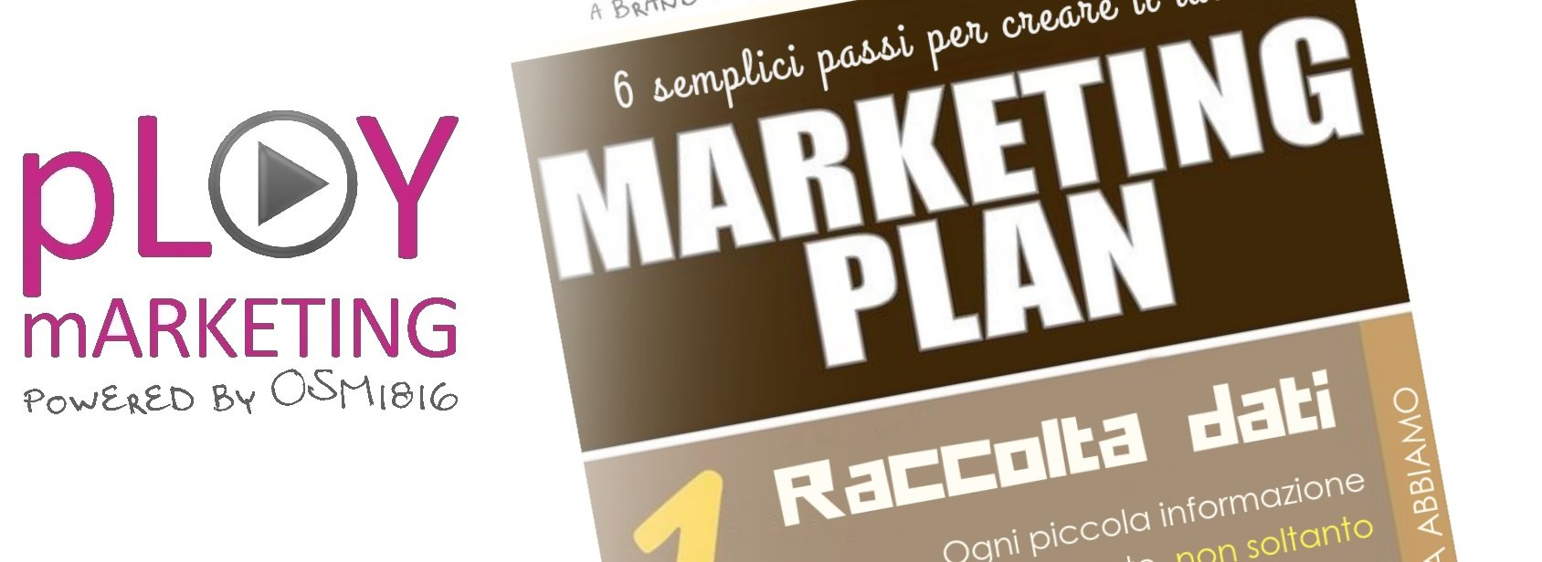 Infografica: 6 passi per un marketing plan di successo!