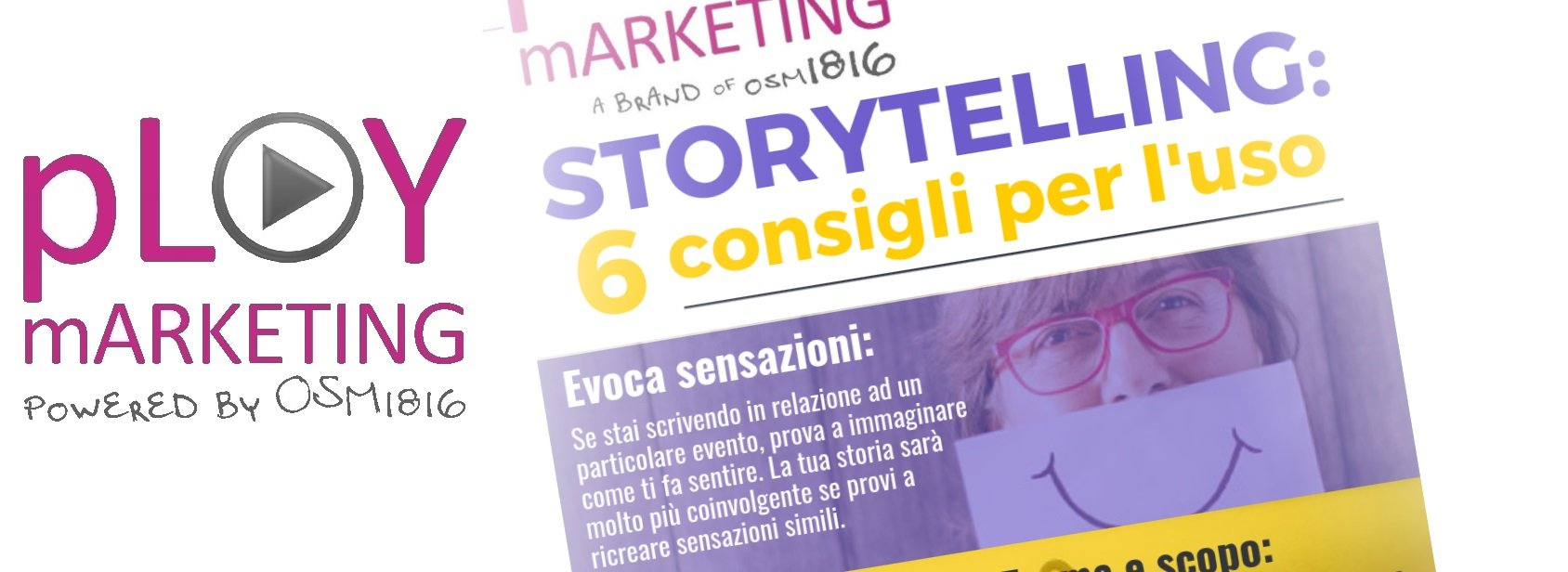 Infografica: Storytelling: 6 consigli per raccontare la tua storia